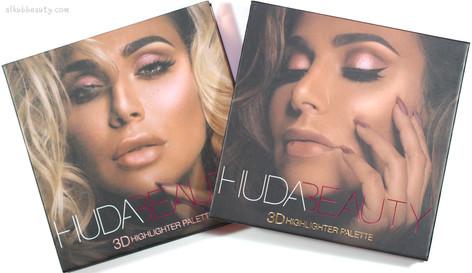 *Huda Beauty 3D Highlighter Palettes-Golden Sands