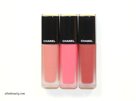 *Chanel Rouge Allure Ink Lipsticks Swatches(+繁體中文)