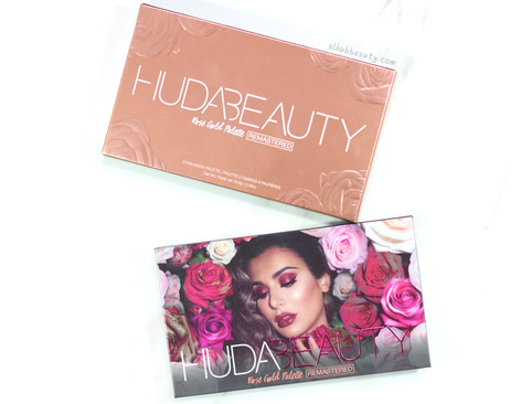 Huda Beauty Rose Gold Remastered Eyeshadow Palette?!