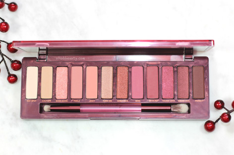 Urban Decay Naked Cherry Eyeshadow Palette Swatches And Review
