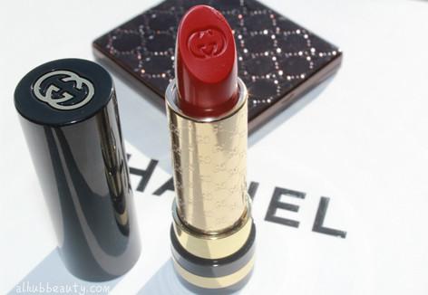 Gucci Audacious Color-intense lipstick, Berry Vanity