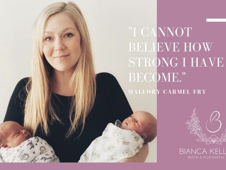 """I cannot believe how strong I have become...."" - Mallory Carmel Fry - #MotherMuse"