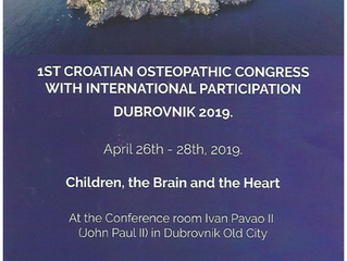 1er Congrès International de la Croatian Academy of Osteopathy