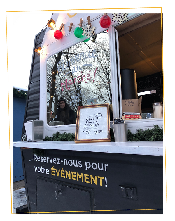 reseration food truck montreal