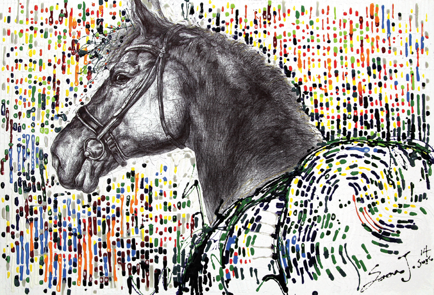 SOLD OUT Neuralnoise(horse)