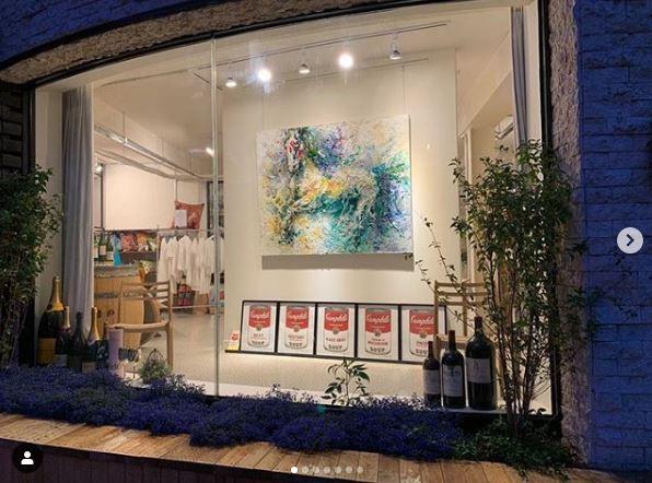2019 에프터전시 콜라보 비노플라워X갤러리인사아트