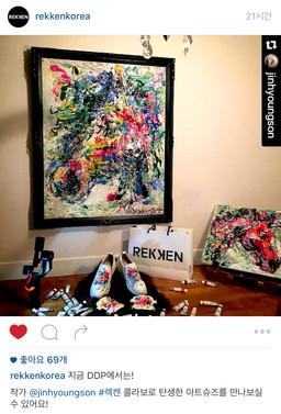 RENASON X REKKEN COLLABO ARTWORK