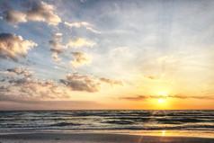 Seaside Sunset