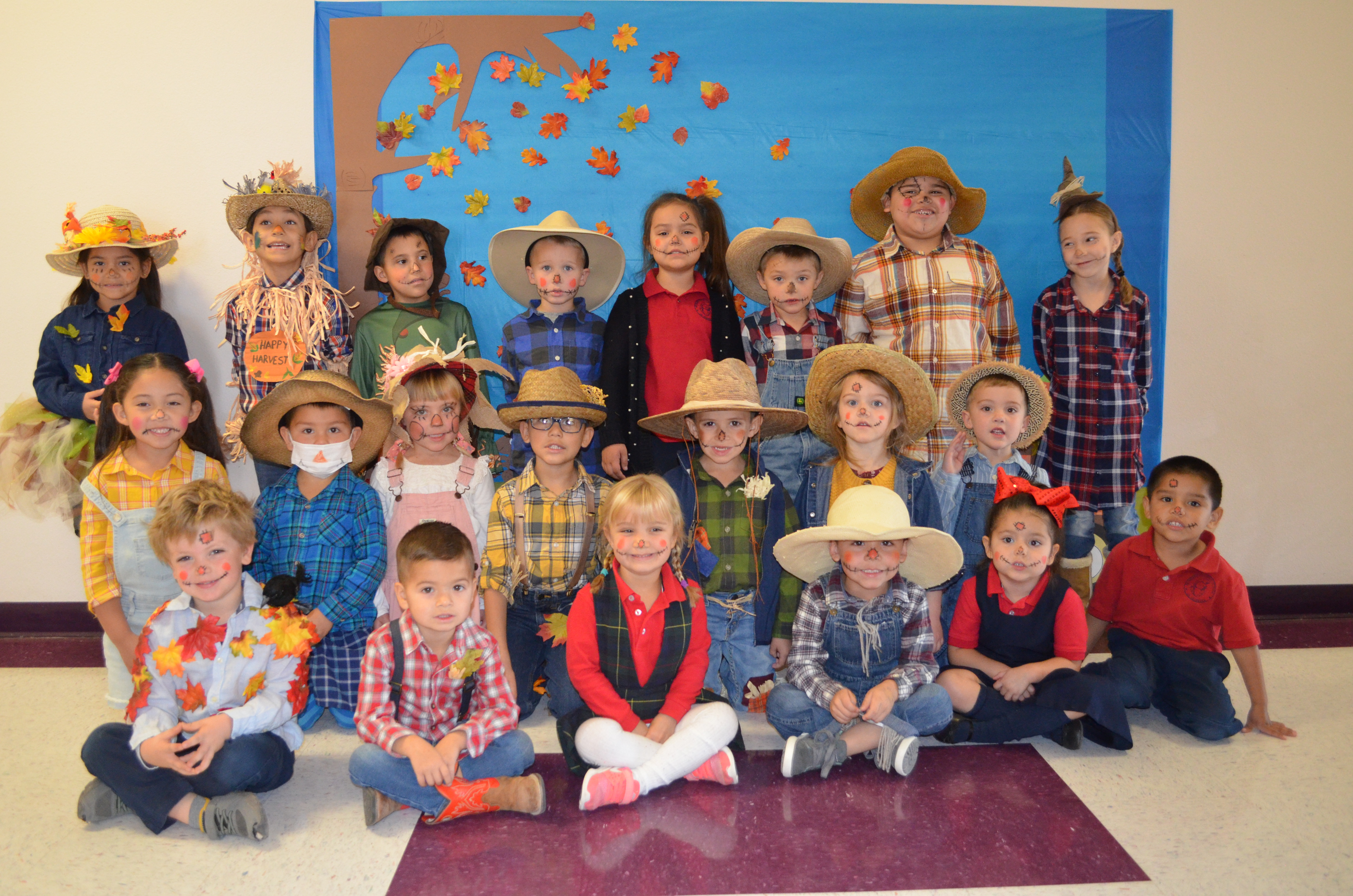kinder prek fall