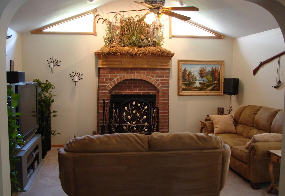 Our livingroom in Lenexa, Kansas.