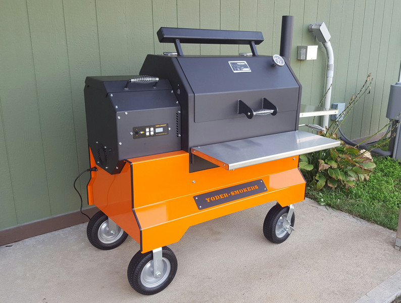 A pellet grill allowed me to have more time to work on the farm while enjoying the flavor of pit cooked meats. We enjoy using all kinds of grills, but this was a safer way to smoke for long periods without constantly monitoring temperature.