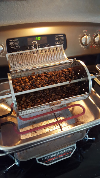 I started purchasing organic green coffee and roasting it at home to save money. The end product is something that even the high-end storefronts can't match. Once you start roasting coffee at home, there is no turning back. I have been roasting coffee for six years a few times a month.
