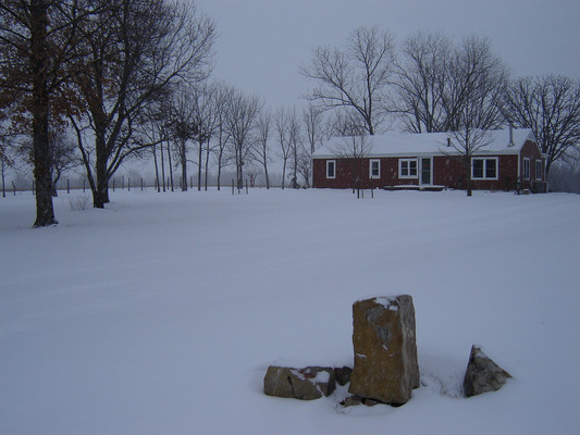 December weather often brings snow to Western Missouri, but they only last a few short days.