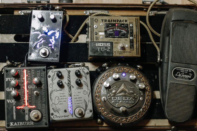 Vintage Pedals - Silvan Guitars - Columbus, GA