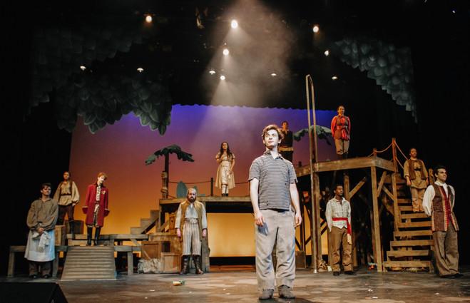 Peter and the Starcatcher - Columbus State University Department of Theatre - Columbus, GA