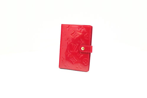 Louis Vuitton Agenda PM in Pomme d'Amour Vernis Leather