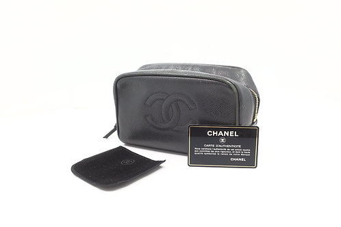 Chanel Caviar Timeless Line Cosmetic Pouch