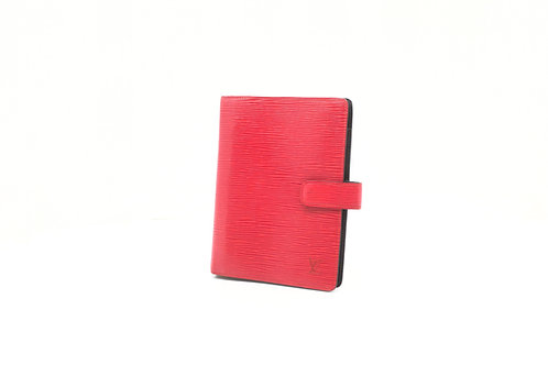 Louis Vuitton Agenda MM in Red Epi Leather