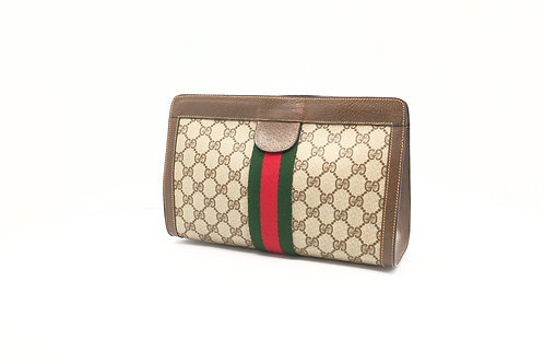 Gucci Toiletry Pouch in GG Canvas