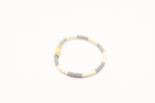 Louis Vuitton Keep It Bracelet in Damier Azur Canvas