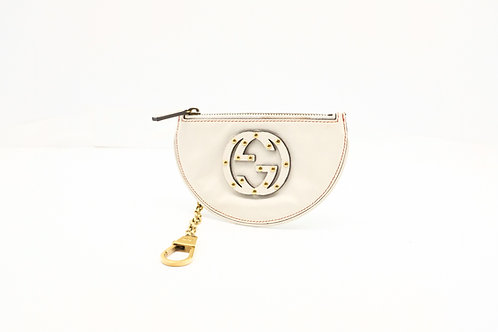 Gucci GG Key Pouch in Leather
