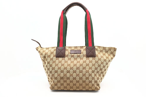 Gucci Sherry-Line Handbag in GG Diamante Canvas