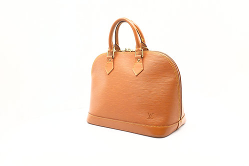 Louis Vuitton Alma in Cannelle Epi Leather