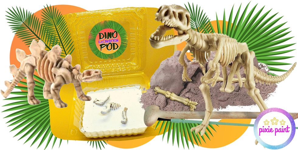 Dino Dig Zone Party at Home 10pack