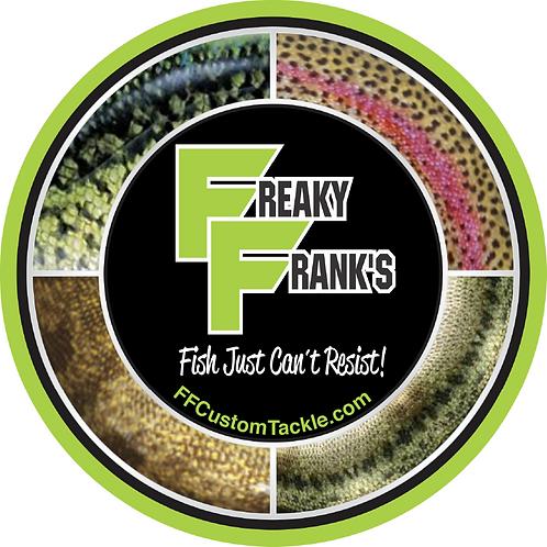 Freaky Frank's Fish Skin Logo