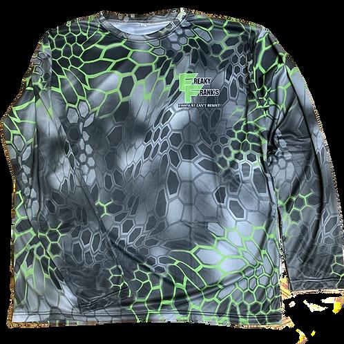 Freaky Frank's Black/Green Tactical Shirt