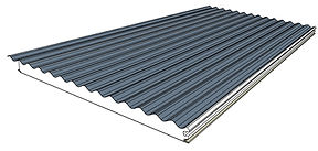 DeltaOrb is a classic corrugated sheeting with excellent insulating properties.