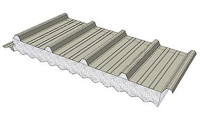 DeltaTrimCorro combines classical shapes of insulated corrugated and trapezoid metal roofing.