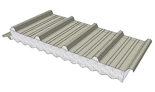 DeltaTrimCorro for insulated roofing systems.