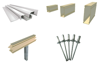 Delta Panels offers a full range of quality accessories to complement your roofing project.