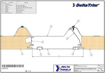 DeltaTrim skylight 50mm
