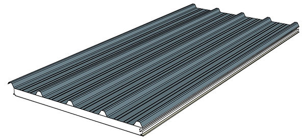 DeltaTrim for insulated patio systems.