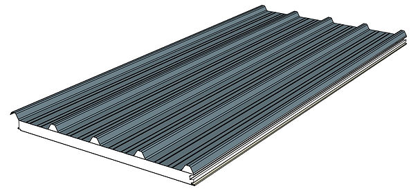DeltaTrim for insulated roofing systems.