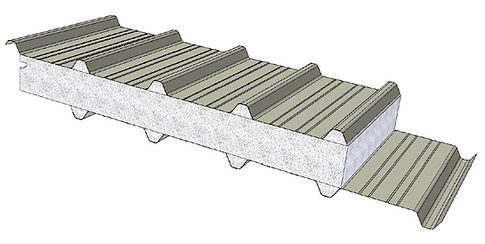 DeltaTrimTrim for insulated roofing systems.