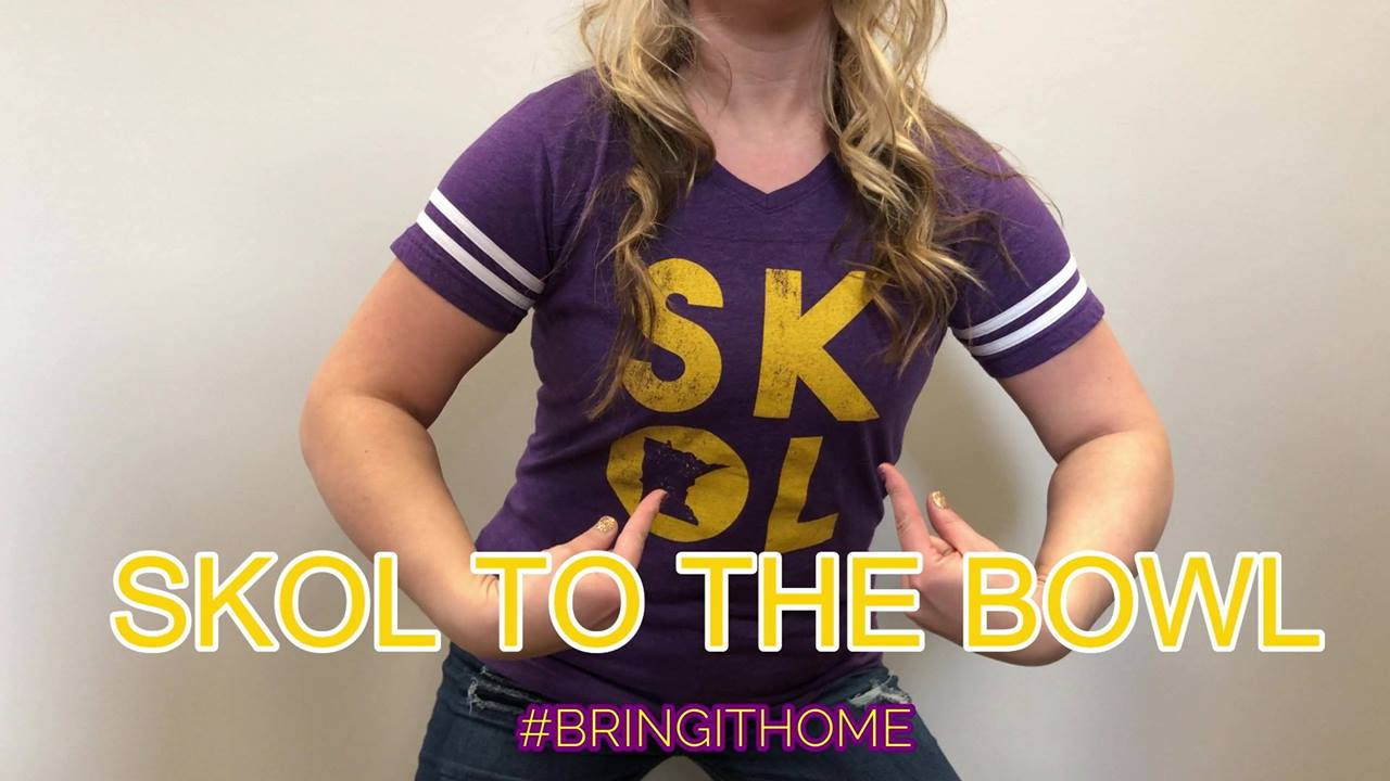 SKOL TO THE BOWL!!