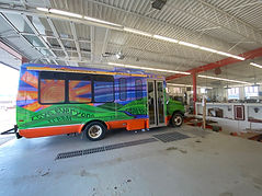 Vinyl bus wrap 1