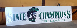 interior sign champions casper wyoming kelly walsh high school