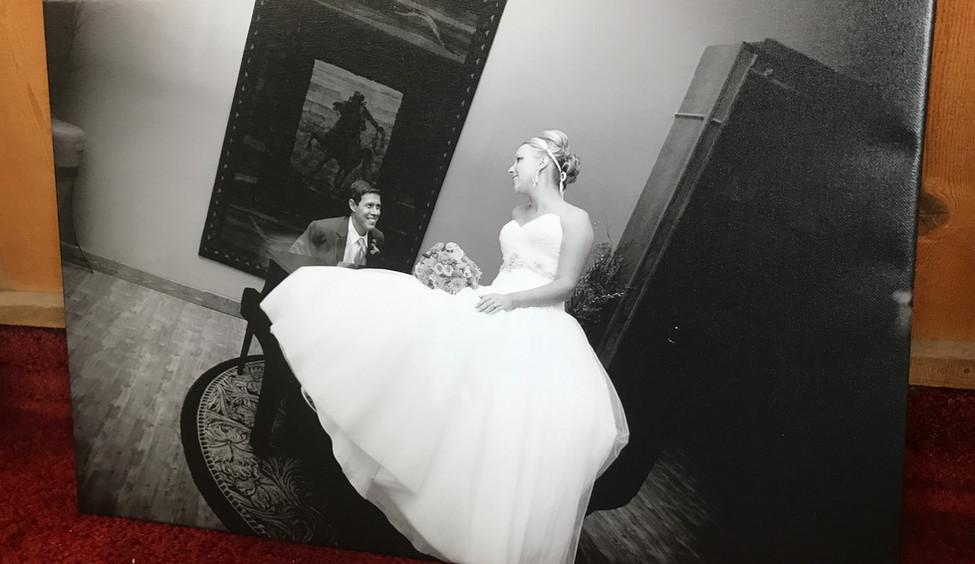 wedding canvas casper