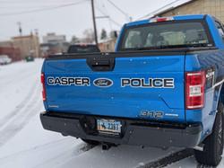 police fleet decals, casper wyoming