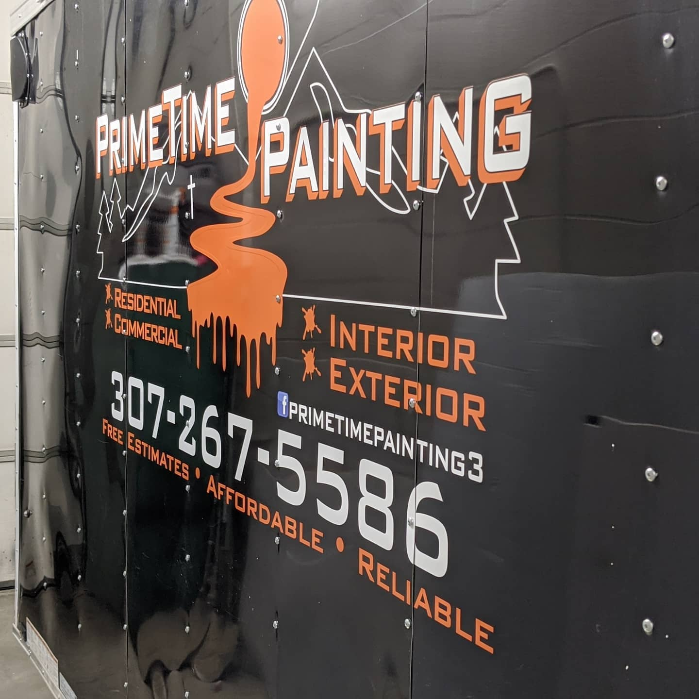 trailer decals, painting company, casper wyoming