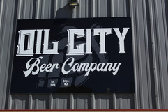 exterior building sign, casper wyoming. brewery