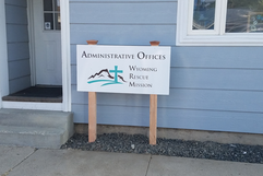 exterior office sign casper wyoming