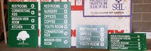 directory signs casper wyoming, church