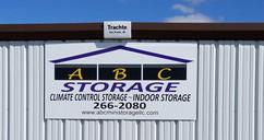exterior sign, casper wyoming storage units