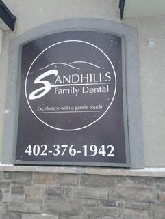 exterior sign, nebraska dentist