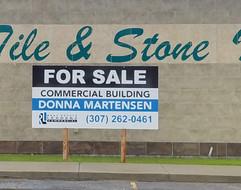 real estate sign casper wyoming